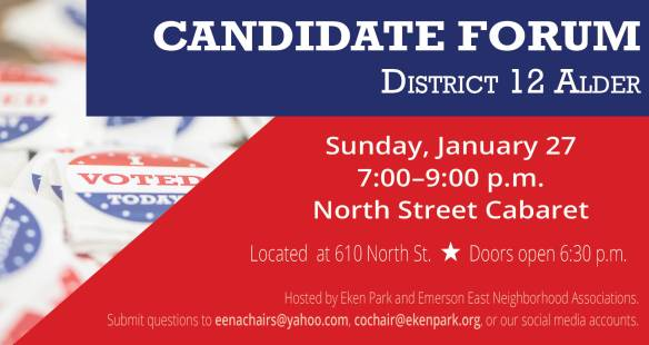 Candidate Forum District 12