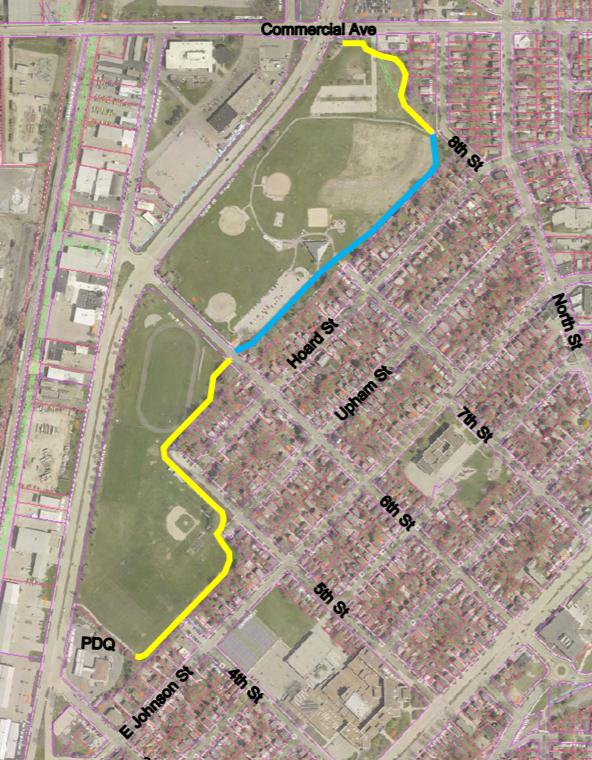 Demetral Park Lighting Map